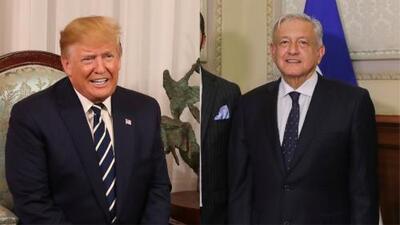 Trump elogia a López Obrador tras el acuerdo que suspende la imposición de aranceles a México