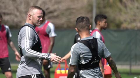 """Wayne Rooney todo un líder al frente de DC United: """"Lo primero es mejorar como equipo"""""""