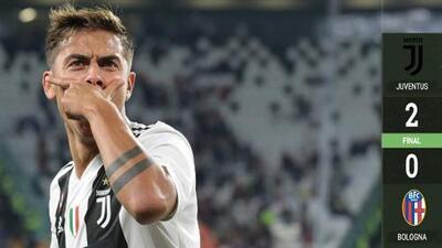La Juventus gana al Bologna y sigue invicta en la Serie A: Cristiano Ronaldo no marcó