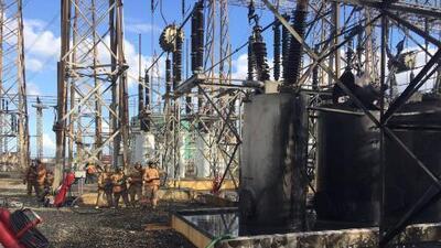 Muy pronto para saber causa del incendio en Central Aguirre