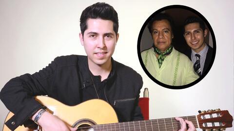 Santiago Alberto, ahijado de Juan Gabriel, grabó dos canciones de su padrino que él nunca escuchó