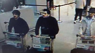 Identifican a suicidas de atentados en Bruselas