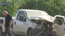 Un trabajador del campo muerto y dos más heridos tras choque contra camión de carga