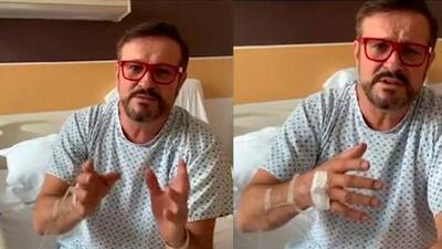 """En video, Arturo Peniche habla sobre su salud dirigiéndose a quienes """"lo mataron"""""""