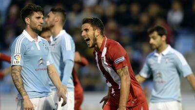 Celta de Vigo 1-1 Sevilla: Sevilla resiste con 1 menos el segundo capítulo de la trilogía