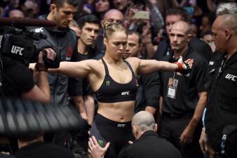 Ronda Rousey, combatiente dominante en la Artes Marciales Mixtas