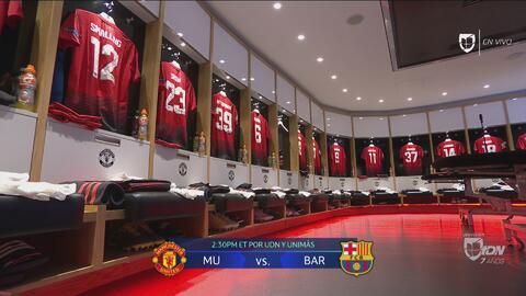 Fantásticos: así lucen los camerinos del 'Teatro de los sueños' a minutos del M. United vs. Barccelona