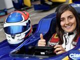 Alfa Romeo Sauber promociona a la colombiana Tatiana Calderón a piloto de pruebas