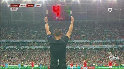 Pierden 9-0 y el árbitro los tortura dando cuatro minutos de TIEMPO AGREGADO