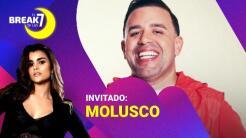 Molusco intercambia papeles en El Break de las 7 y ahora es el entrevistado de Clarissa Molina