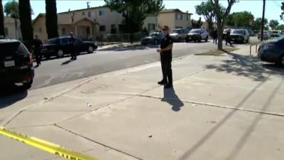 Una persecución concluye en Sur Los Ángeles con un sospechoso muerto a manos de la Policía