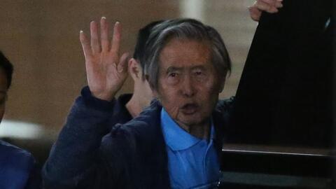 Alberto Fujimori cuenta que tiene un tumor y niega su regreso político en Perú