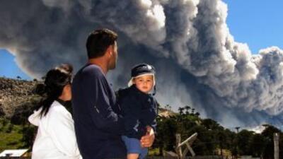Alerta amarilla en Chile y Argentina por cenizas de volcán Copahue