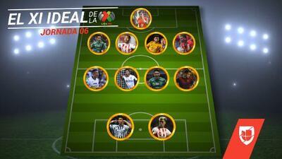 León y Necaxa destacan en el XI Ideal de la Jornada 6