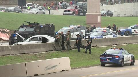 Persecución que empezó en Fort Worth terminó de manera violenta en Arlington