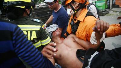 Guaidó, Duque y la OEA denuncian la violencia con la que Maduro impidió la entrada de ayuda humanitaria a Venezuela