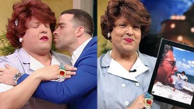 Angelique Boyer podría ponerse celosa por este beso y una foto que compartió Doña Meche junto a Rulli