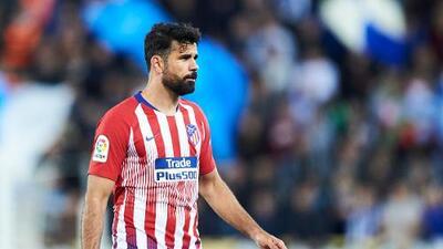 Diego Costa se niega a entrenar con el Atlético de Madrid tras sanción de ocho juegos