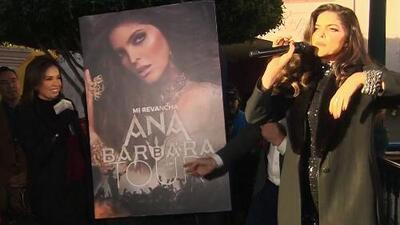 Ana Bárbara grita de emoción al recibir una sorpresa inesperada en Despierta América