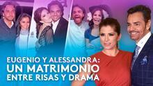 Drama, amor y mucho humor, así es el matrimonio de Eugenio Derbez y Alessandra Rosaldo