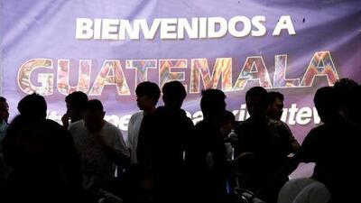 Guatemala acepta convertirse en un 'tercer país seguro', donde migrantes tendrán que pedir asilo en vez de hacerlo en EEUU