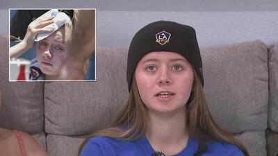 Se recupera en casa la chica golpeada por una bola de Cody Bellinger: así es cómo se siente tras el incidente