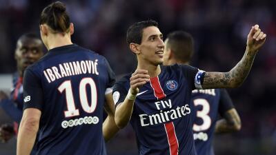 El París Saint-Germain derrotó 2-0 al Bastia con gran actuación de Di María