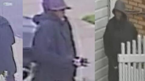 Revelan imágenes del sospechoso de apuñalar varias veces a un hombre en su vivienda