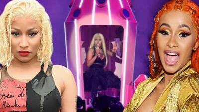 Nicki Minaj cancela concierto en Francia y unos enfurecidos fans piden a Cardi B en el escenario