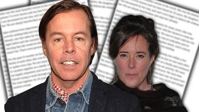 El viudo de Kate Spade teme por su hija luego de que se filtrara la carta suicida de la diseñadora