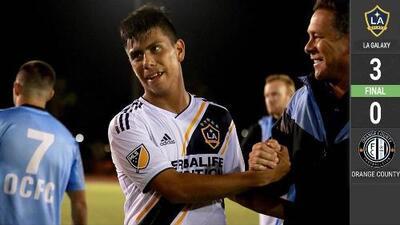Con doblete de Efraín Álvarez, el LA Galaxy avanza en la US Open Cup