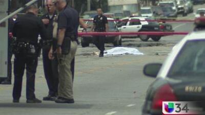 Un muerto en balacera en Pacoima