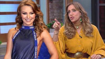 """La reacción de Lili Estefan tras ver a Irina Baeva en """"la lista de las descaradas"""""""