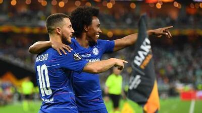 Goles pintados de Blues: top 5 de anotaciones del Chelsea en la Europa League
