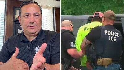 """""""Si es indocumentado, no esté con alguien que tiene orden de deportación"""": el consejo del jefe de policía de Houston"""