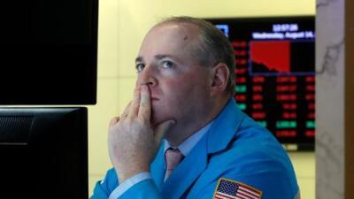 La Bolsa de Nueva York cae estrepitosamente en medio de temores de una recesión
