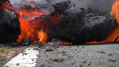 Erupciones de lava de hasta 230 pies se han registrado en Hawaii