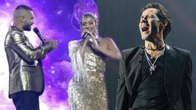 20 años después JLo canta tema que grabó con Marc Anthony, pero ahora con Maluma