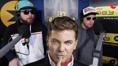 Trap News: exesposa de Cristian Castro dice que el cantante a sus 45 años usa biberón