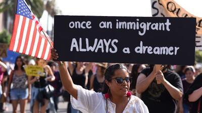 """Trump dice que los estadounidenses también son dreamers. Y ellos contestan: """"Los dreamers también son estadounidenses"""""""