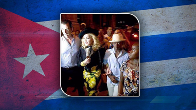 Madonna celebra sus 58 años en La Habana
