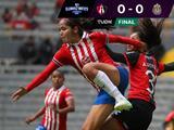 No hubo goles pero sí muchos golpes en el Atlas vs Chivas de la Liga MX Femenil