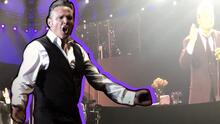 Luis Miguel interrumpe concierto en Hollywood para cantarle cumpleaños a una actriz
