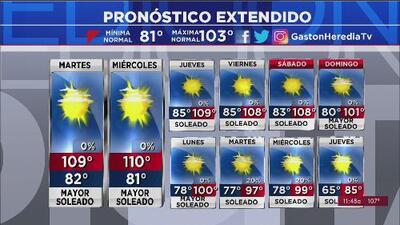 Activan vigilancia por calor extremo en Arizona