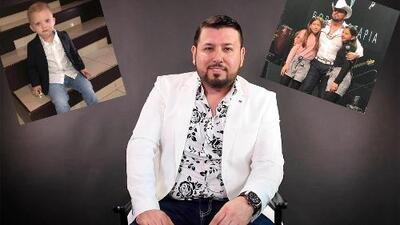Con una sonrisa, Roberto Tapia habla sobre sus tres hijos y lo que comparte de ellos con sus fans