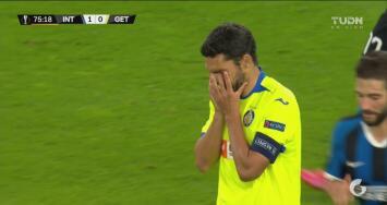 ¡Imperdonable! Jorge Molina falla un penalti que hubiera sido el empate del Getafe