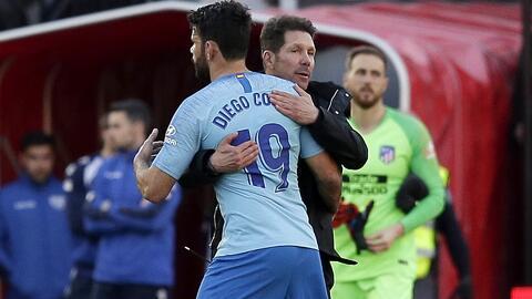 """Para Simeone, Diego Costa es imprescindible: """"Quiero que se quede, confío a muerte en él"""""""