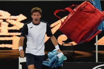 Ataque de ira de Pablo Carreño por perder partido de 5 horas en Abierto de Australia