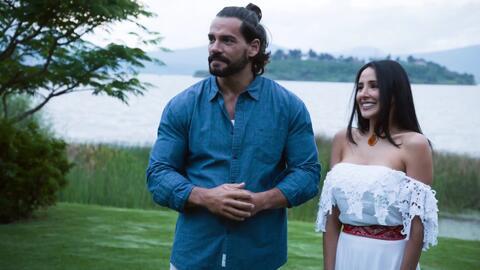 'En tierras salvajes' - Isabel conoció a Itzel, el posible nuevo amor de Daniel - Escena del día
