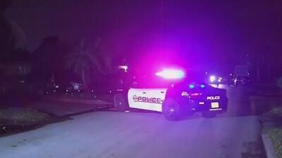 Dos personas resultan heridas tras un tiroteo que comenzó en Hollywood y terminó en Miramar
